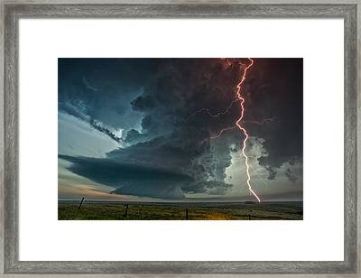 Thor Speaks Framed Print