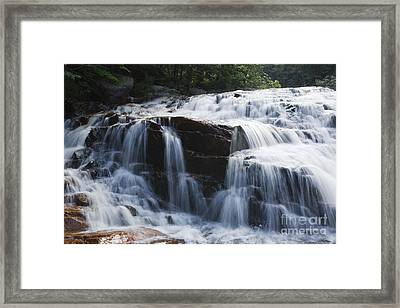 Thoreau Falls - White Mountains New Hampshire Usa Framed Print by Erin Paul Donovan