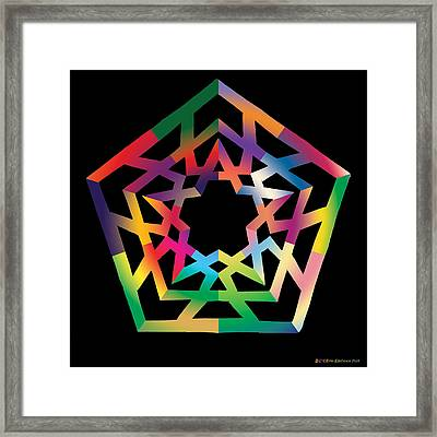 Thoreau Star Framed Print