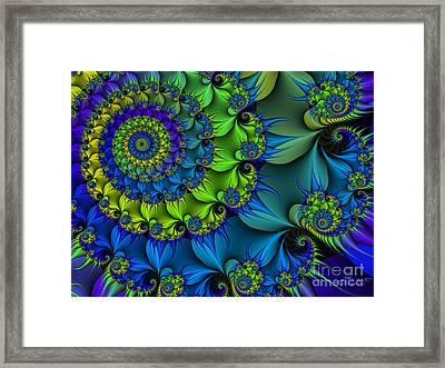 Thorn Flower Framed Print