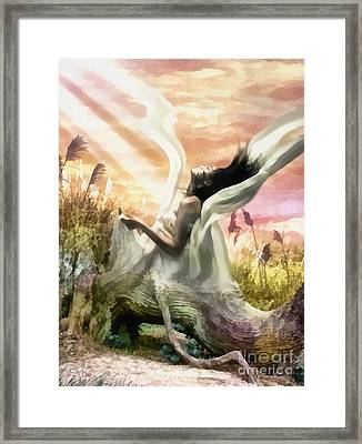 Thorn Framed Print