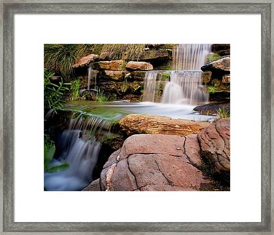 Thorndon Falls Framed Print by Heather Thorning
