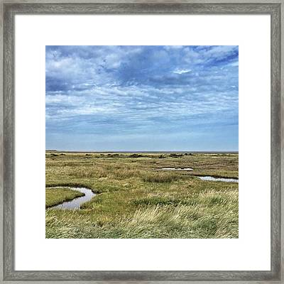 Thornham Marshes, Norfolk Framed Print