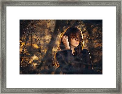 Thorns Framed Print by Kovacs Levente