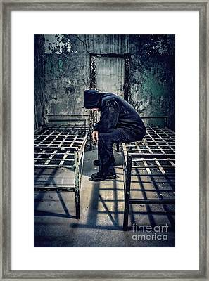 Thorns Of Punishment Framed Print by Evelina Kremsdorf