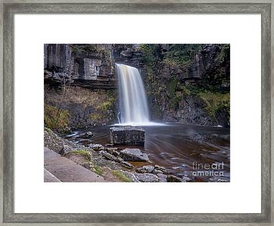 Thornton Force Framed Print by Peter Stuart