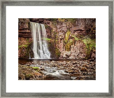 Thornton Force, Yorkshire Dales Framed Print by Colin and Linda McKie