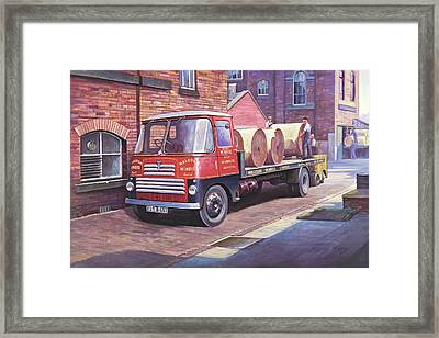 Thornycroft 7 Tonner. Framed Print
