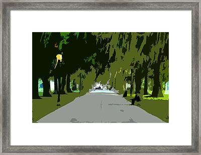 Thoroughfare Framed Print by David Lee Thompson