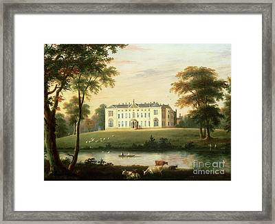 Thorp Perrow Near Snape In Yorkshire Framed Print by English School