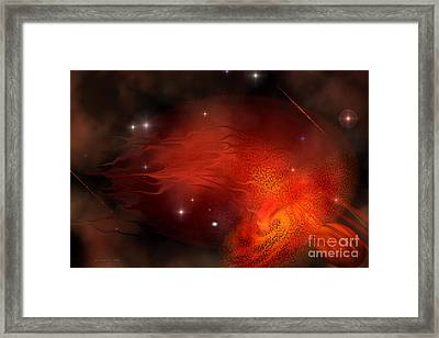 Thor's Gate Framed Print by Corey Ford