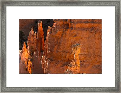 Thor's Hammer At Sunrise Framed Print by Joseph Smith