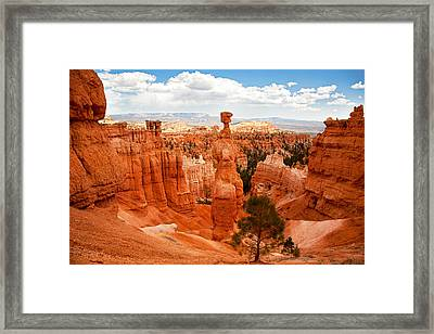 Thors Hammer Framed Print