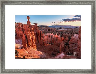 Thor's Kingdom - Bryce Canyon N.p. Framed Print