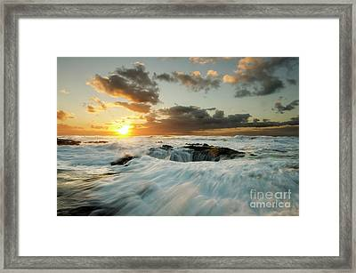 Thors Well Cape Perpetua 1 Framed Print by Bob Christopher