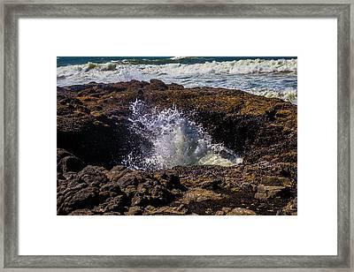 Thors Well Oregon Framed Print