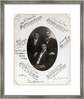 Those Ebony Offenbachs, Johnson Framed Print by Science Source