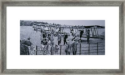 Those Magnificent Men....... Framed Print by Andy Davis