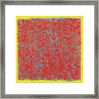 Those Spaces Between Framed Print by James Mancini Heath
