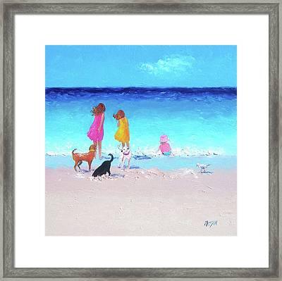 Those Summer Days Framed Print
