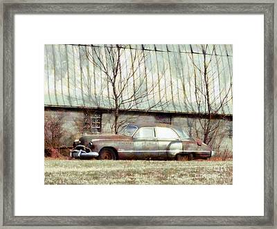 Framed Print featuring the photograph Those Were The Days - 49 Buick Roadmaster by Janine Riley