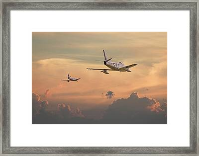 'those Were The Days......' Framed Print by Pat Speirs