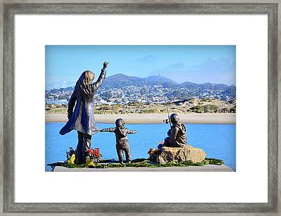 Framed Print featuring the photograph Those Who Wait by AJ Schibig