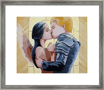 Thou Romeo Framed Print by Juliet Magill