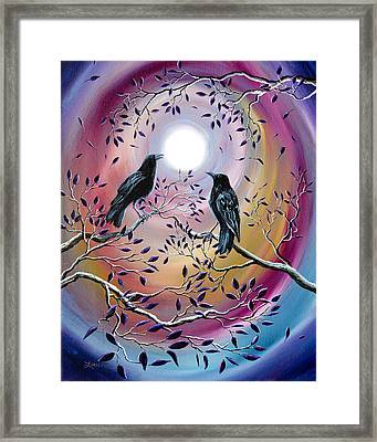 Thought And Memory Framed Print