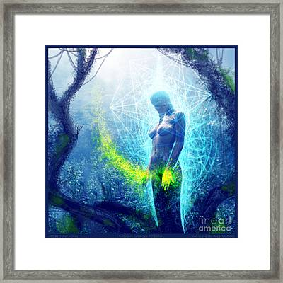 Thought Causing Potential Framed Print by Tony Koehl