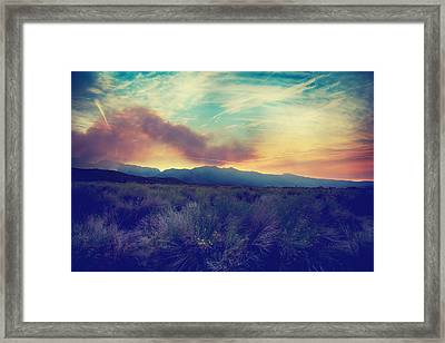 Thought I'd Won Your Heart Framed Print by Laurie Search