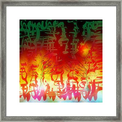 Thought Process. Framed Print by Grant  Wilson