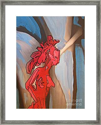 Thought Projection Framed Print by John Malone