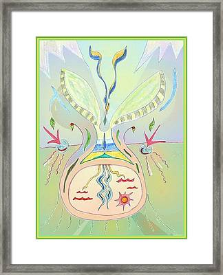 Thought Seed Framed Print
