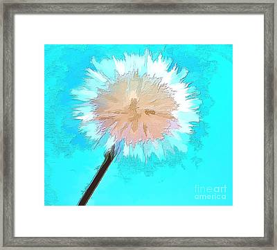 Thoughtful Wish Framed Print by Krissy Katsimbras