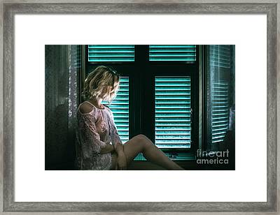 Thoughts And Silences Framed Print