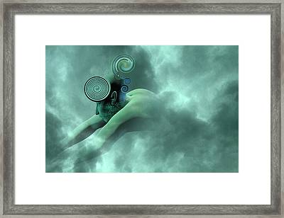 Thoughts Are Born Framed Print by Betsy Knapp