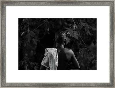 Thoughts In Time Framed Print by Bob Orsillo