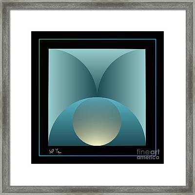 Thoughts Observation Framed Print