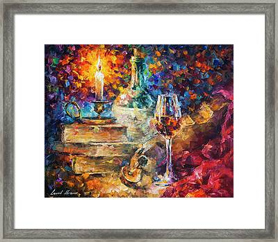 Thoughts Of Composing Framed Print