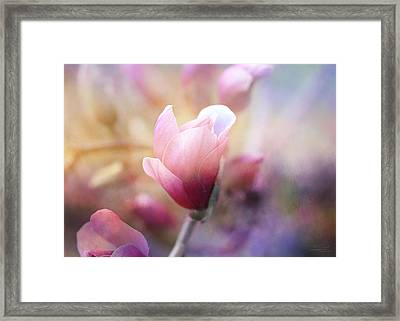 Thoughts Of Flowers Framed Print