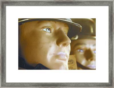 Thoughts Of Pre War Days Framed Print by Jez C Self