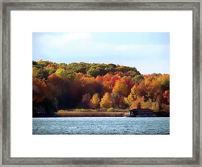 Thousand Island Color Framed Print
