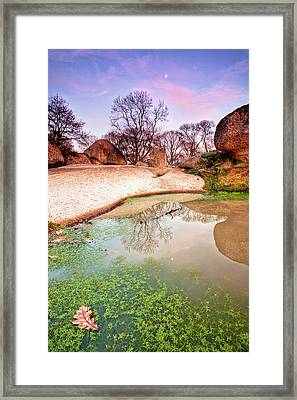 Thracian Sanctuary Framed Print by Evgeni Dinev