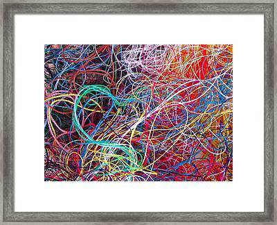 Thread Collection Framed Print