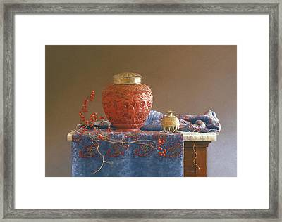 Thread To The Past Framed Print