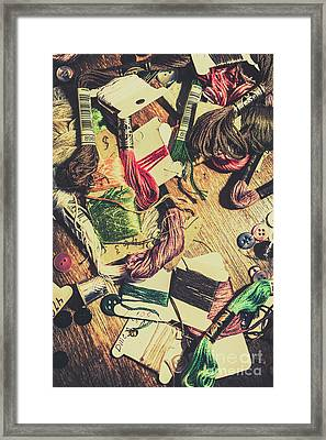 Threadbare Framed Print