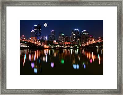 Three A M  Framed Print by Frozen in Time Fine Art Photography