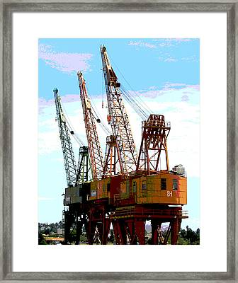 Three Amigos Framed Print by Ben Freeman