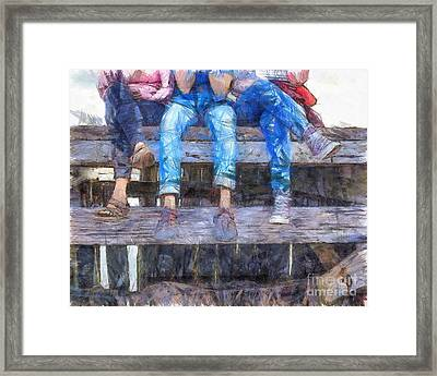 Three Amigos Framed Print by Edward Fielding